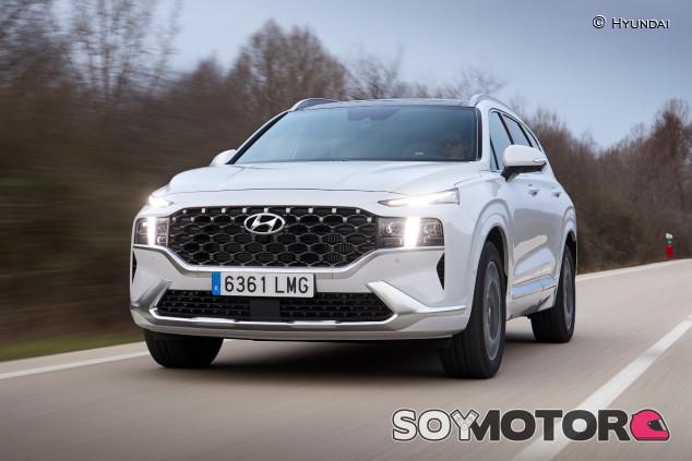 Hyundai Santa Fe 2021: restyling con sabor a nueva generación - SoyMotor.com