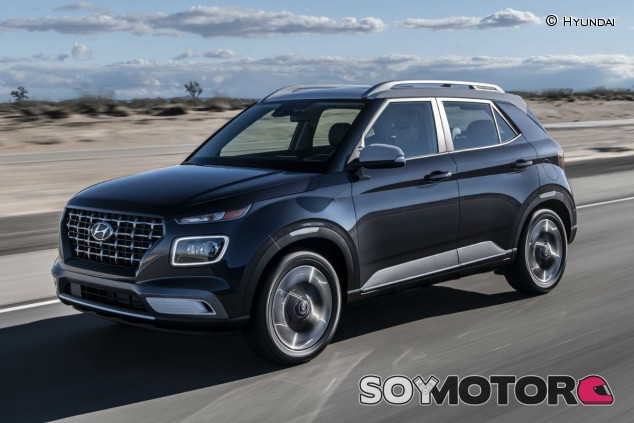 Hyundai Venue 2020: SUV compacto de imagen seria - SoyMotor.com