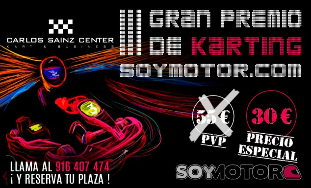 III Gran Premio de karting SoyMotor.com en Carlos Sainz Center