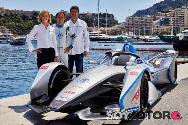 Susie Wolff y Felipe Massa –SoyMotor.com