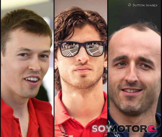 Los tres aspirantes al asiento de Toro Rosso en 2019 – SoyMotor.com