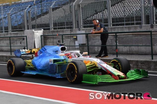 Test aerodinámico en Williams – SoyMotor.com