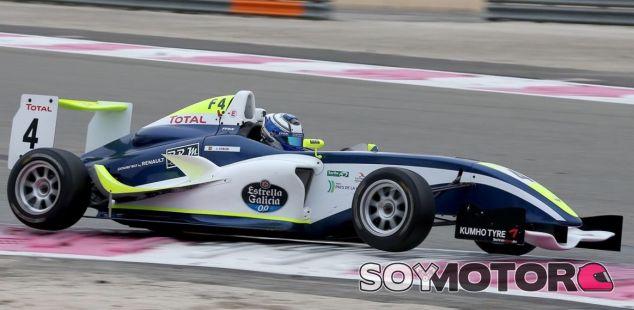 Javier Cobián remontó hasta la cuarta posición en la última carrera del fin de semana - LaF1
