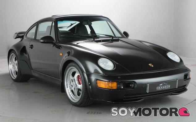 El estado de este Porsche 964 Turbo 'Slantnose' en inmejorable - SoyMotor