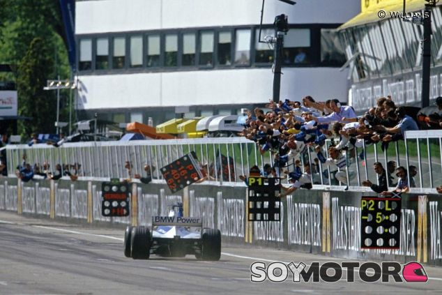 Ralf Schumacher venció en Imola 2001 con Williams - LaF1