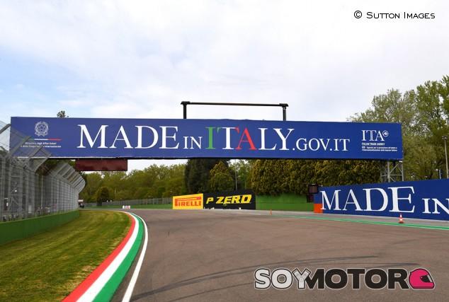 La Fórmula 1 es clara con los límites de pista en Imola