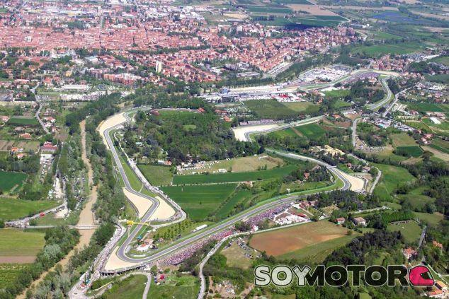 Imagen aérea del circuito de Imola - LaF1