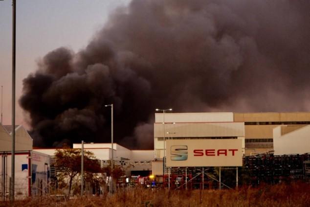 Se ha declarado un incendio en el museo de Seat - SoyMotor.com