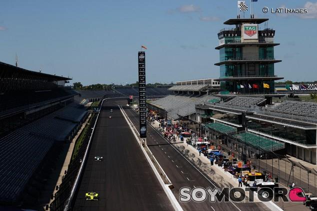 Escena de los entrenamientos de Indianápolis - SoyMotor.com