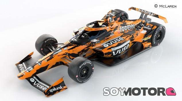 Rosenqvist presenta su nuevo diseño para competir en la Indy500 - SoyMotor.com
