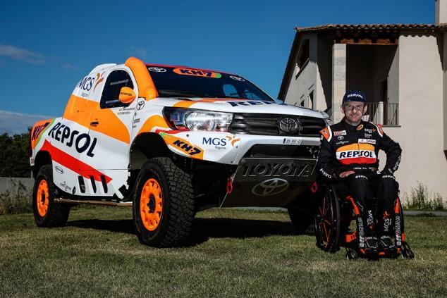 Isidre Esteve disputará el Dakar 2021 con un Toyota Hilux Overdrive - SoyMotor.com