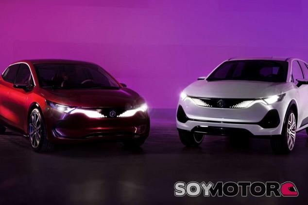 Los Izera, hatchback y SUV, llegarán a partir de 2023 - SoyMotor.com