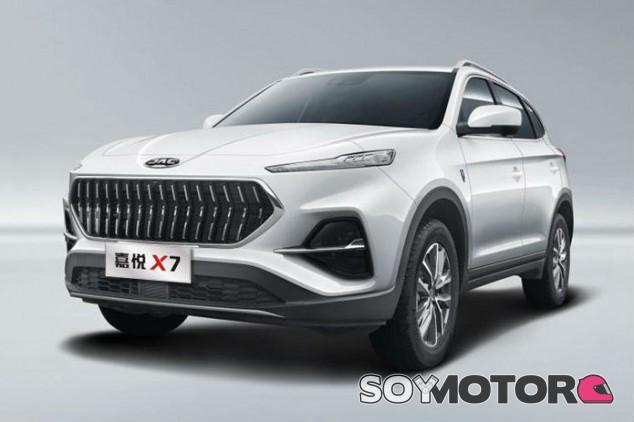 JAC Jiayue X7 2020: el nuevo SUV chino desvela su aspecto - SoyMotor.com