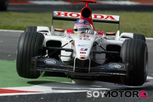 Villeneuve, en su etapa con BAR Honda - LaF1