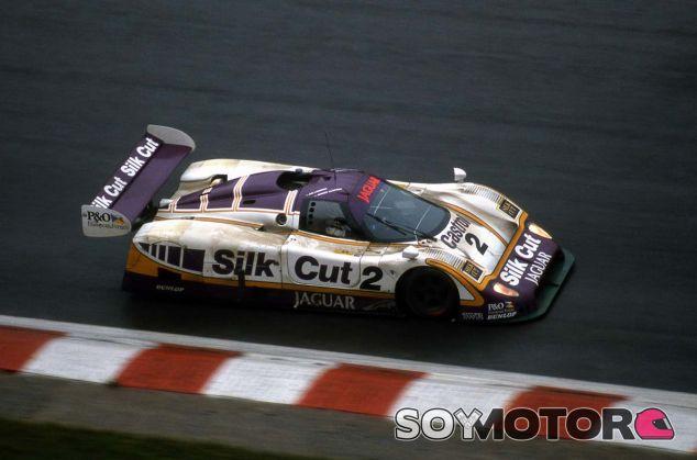 El Jaguar XJR-9 en Spa-Francorchamps - SoyMotor.com