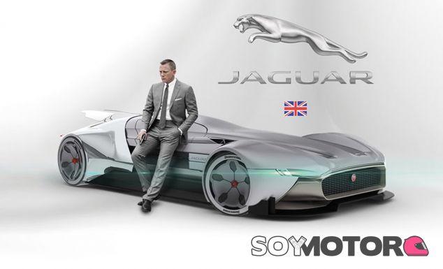 Este futurista hypercar de Jaguar luce mejor con James Bond (Daniel Craig) a su lado - SoyMotor