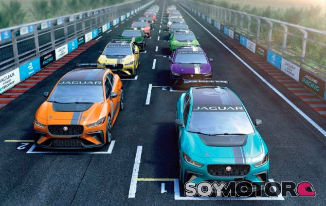 Jaguar anuncia un campeonato eléctrico 'telonero' de la Fórmula E - SoyMotor.com