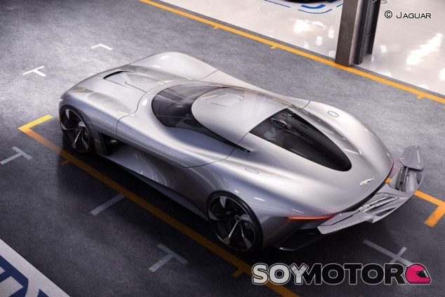 El Jaguar Vision Gran Turismo presentado el pasado año - SoyMotor.com