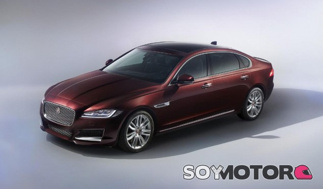 El diseño del Jaguar XF L es bastante fiel a la imagen del XF - SoyMotor