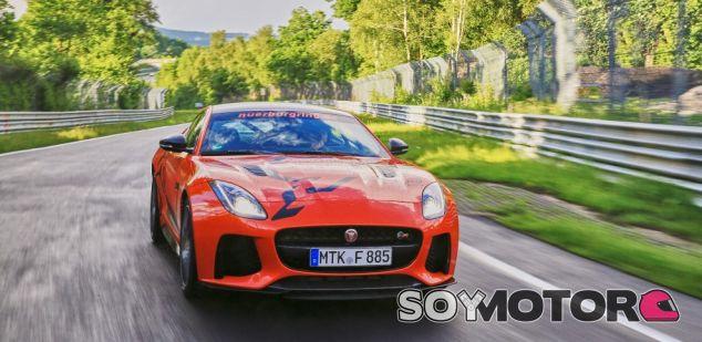 Jaguar F-Type SVR, nuevo taxi en Nürburgring