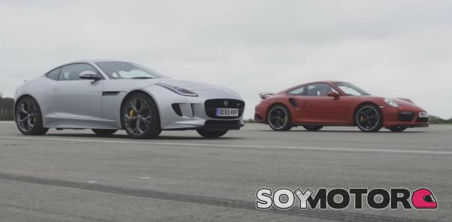 Jaguar F-Type AWD vs Porsche 911 Turbo S