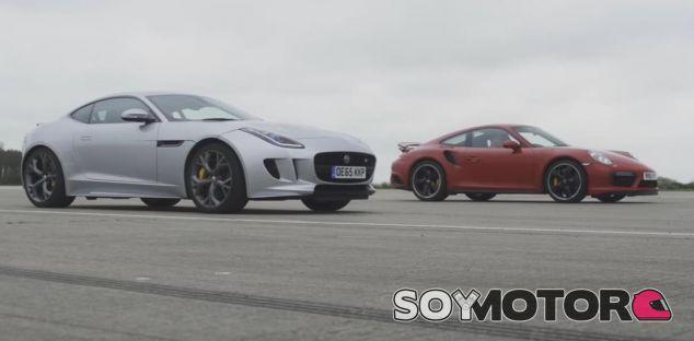 Jaguar F-Type AWD vs Porsche 911 Turbo S