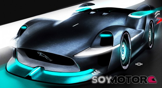 Jaguar Persona: el coche de carreras de 2030 - SoyMotor.com