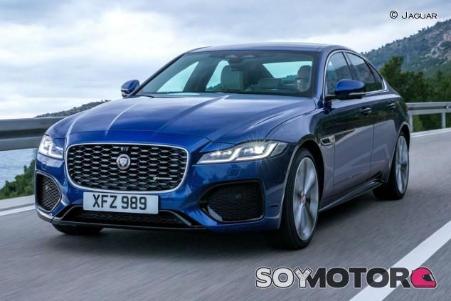 Jaguar XF 2021: restyling con 'mild-hybrid' para el Diesel - SoyMotor.com