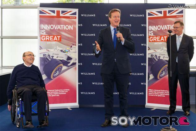 David Cameron durante la inauguración - LaF1