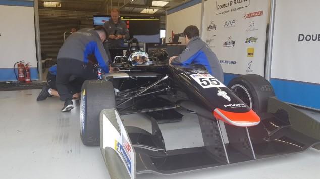 Jamie Chadwick prueba con Double R Racing en la Euroformula Open