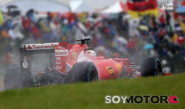 Sebastian Vettel en la lluvia de Suzuka - LaF1