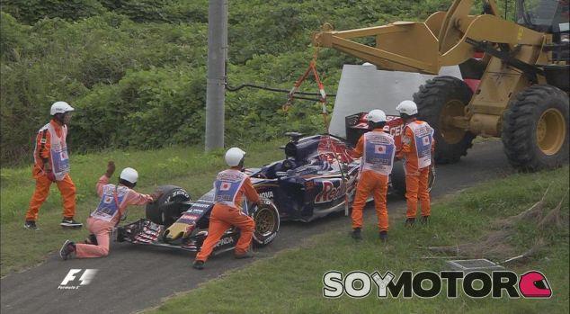 Los comisarios de Suzuka retiran el coche de Verstappen - LaF1