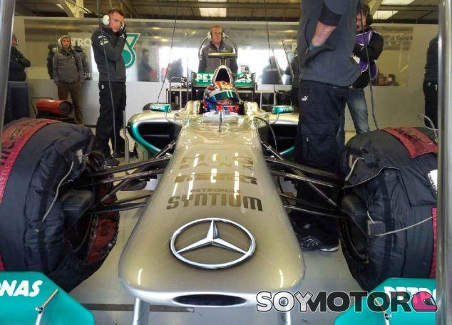Jazeman Jaafar con Mercedes AMG en Silverstone - LaF1