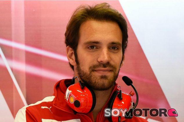 Éste es el segundo año de Vergne como probador de Ferrari - LaF1