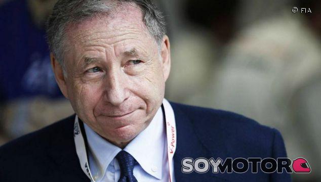 Jean Todt, presidente de la FIA, en una imagen de archivo - LaF1