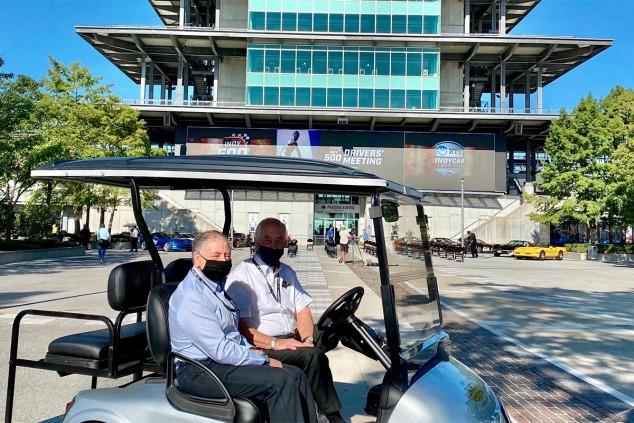 Jean Todt y Roger Penske en Indianápolis - SoyMotor.com