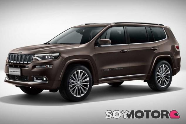 Jeep Grand Commander, SUV de siete plazas que se vende únicamente en China - SoyMotor.com
