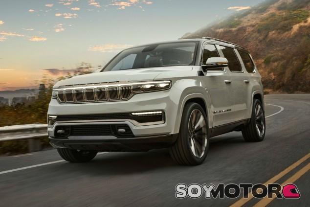 Jeep Grand Wagoneer Concept: lujo reinventado de talla XXL - SoyMotor.com