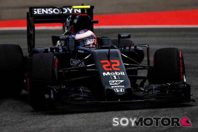 Jenson Button en Hockenheim - LaF1