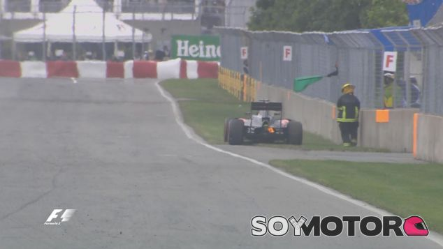 Button abandonó en la vuelta 9 - LaF1