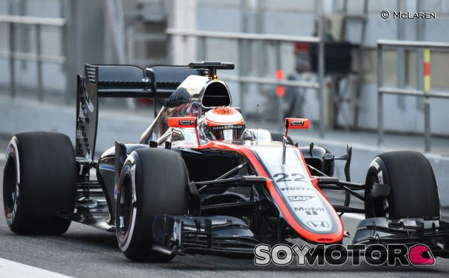 Jenson Button en los test de Jerez - LaF1
