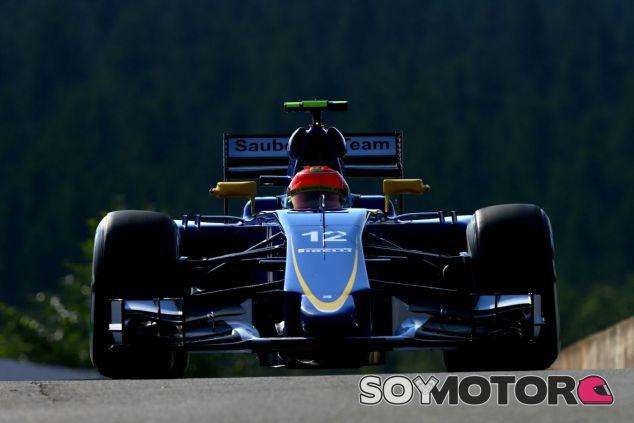 Felipe Nasr tuvo dificultades en el GP de Bélgica - LaF1