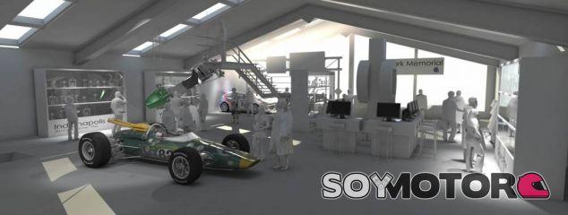 Imagen virtual de cómo podría ser el nuevo Jim Clark Museum - LaF1