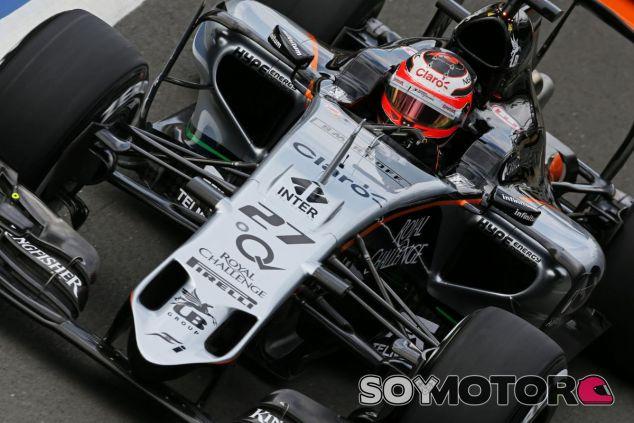 Nico Hulkenberg en Silverstone - LaF1.es