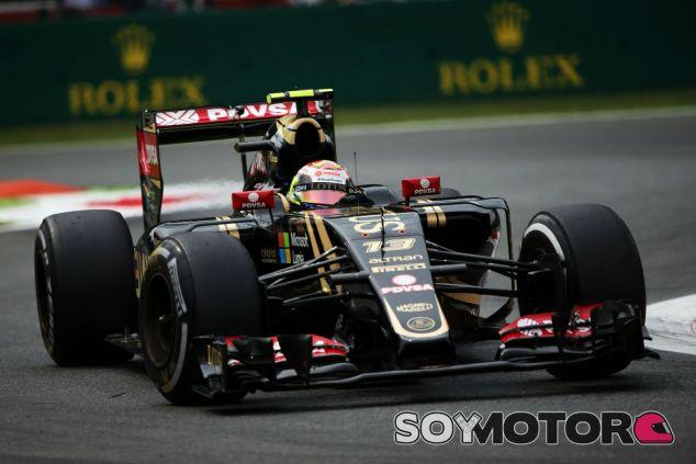 Maldonado sobre el asfalto del Autodromo de Monza - LaF1
