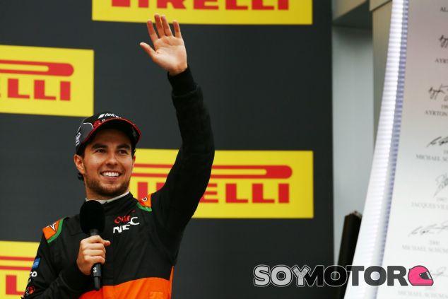 Pérez quiere llegar a México para disputar su primera carrera de casa - LaF1