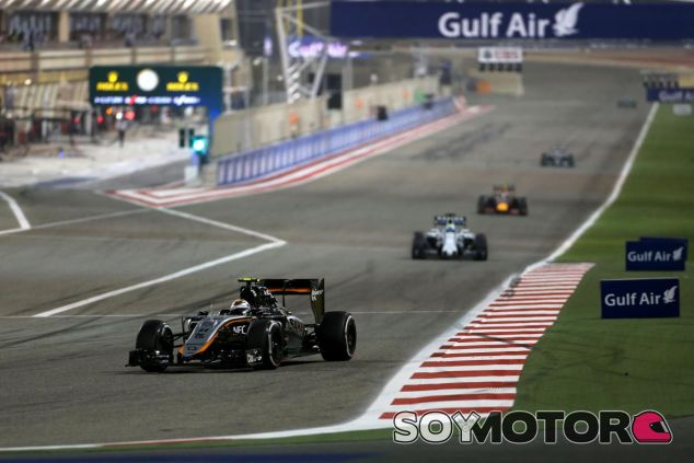 Sergio Perez logró ser octavo en la noche de Sakhir - LaF1.es