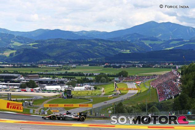 La Fórmula 1 no descansa y seguirá con los test en Austria - LaF1.es