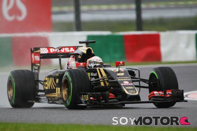 Grosjean valora positivamente las sesiones de libres - LaF1