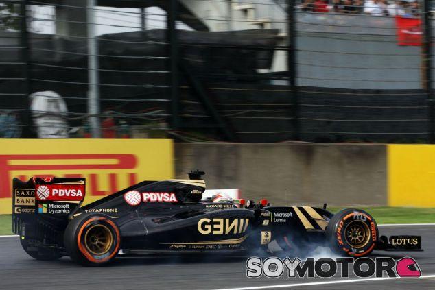 Grosjean se mete en la Q3 - LaF1
